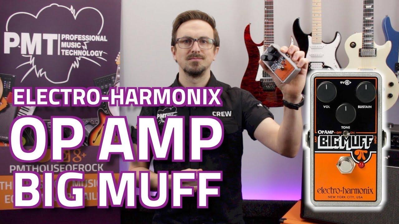 electro harmonix op amp big muff with nano big muff comparison review demo youtube. Black Bedroom Furniture Sets. Home Design Ideas