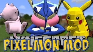 Minecraft PIXELMON MOD (Pokemon in Minecraft) [5.0.3/Tutorial/Deutsch]