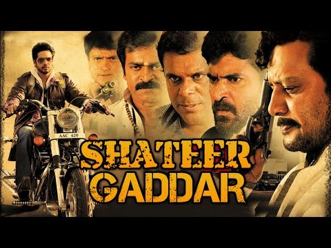 Shateer Gaddar | Latest South HD Action Movie (2016) | Full Hindi Dubbed Movie