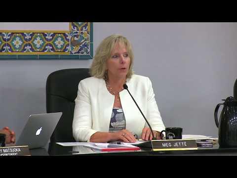 October 10, 2017 Board Meeting, Santa Barbara Unified School District