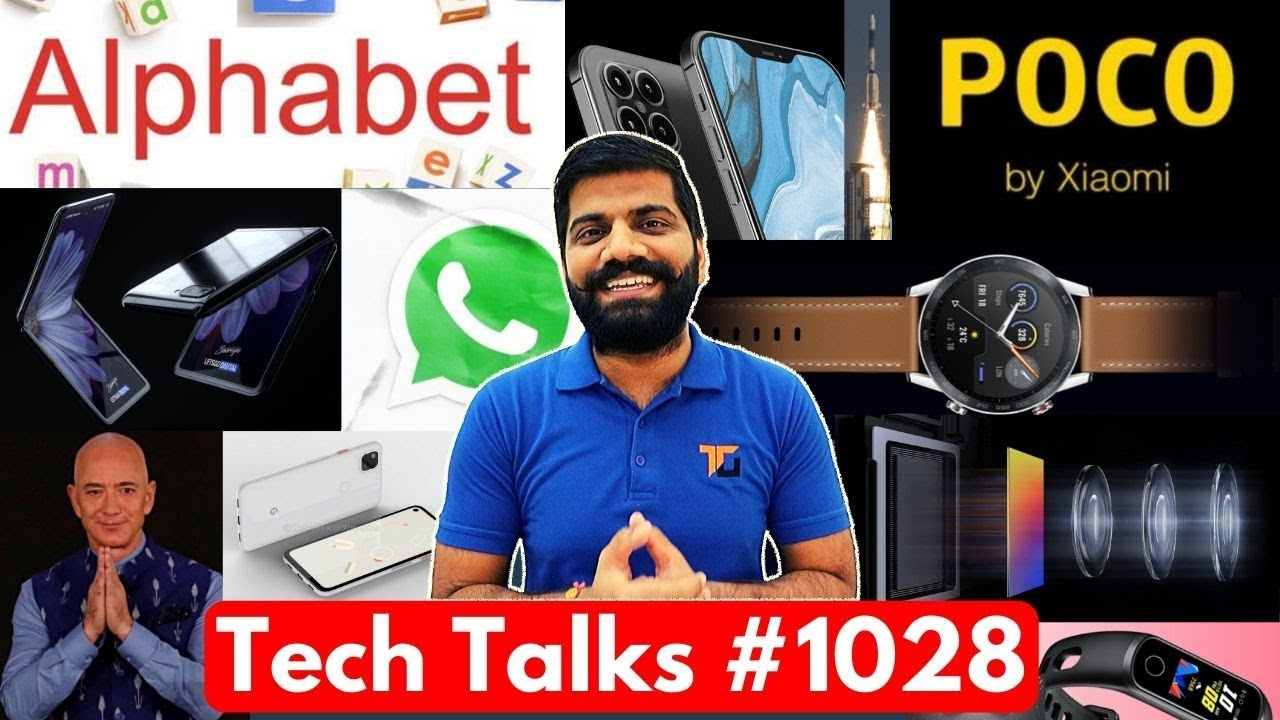 Tech Talks # 1028 - Mise à jour exclusive POCO, appareil photo P40 Pro, Galaxy Z Flip, puce Apple A14, Pixel 4a + vidéo
