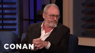 """Liam Cunningham: Obama Lost His Advance Copy Of """"Game Of Thrones"""" - CONAN on TBS"""