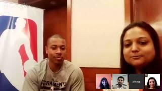 Hangout with Isaiah Thomas by NBAStore Powered by Jabong.com Thumbnail
