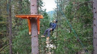 High Ropes Course Hume Lake