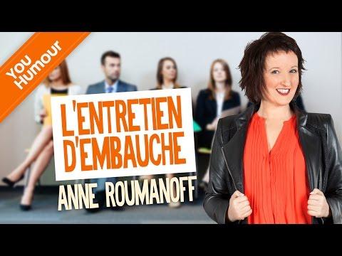 ANNE ROUMANOFF - L'entretien D'embauche