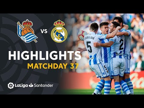 Highlights Real Sociedad vs Real Madrid (3-1)