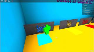 this im first time being sponsered by sega in roblox sonic mania rolpay demo