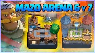 MAZO PARA ARENA 6 y 7 SUBIR COPAS - CLASH ROYALE A POR TODAS - ESPAÑOL thumbnail