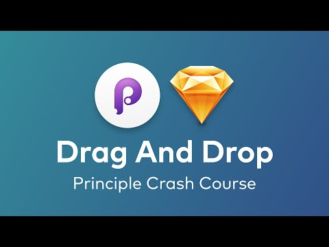 Principle - Drag and Drop using Touch Up & Down Events