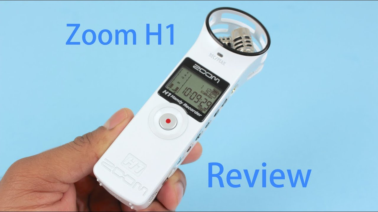 Zoom H1 Review And Test Portable Handy Digital Audio Recorder