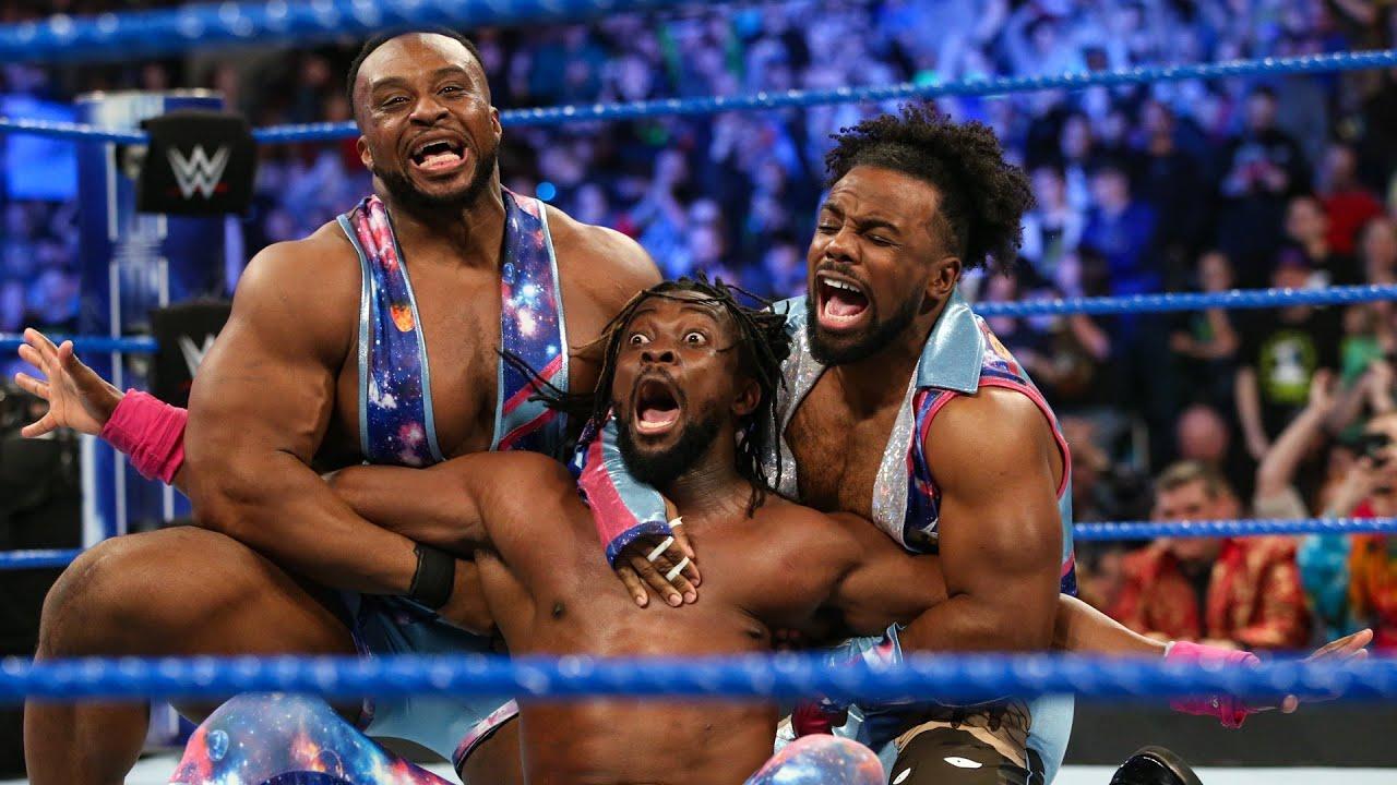 WWE 2K19 - Kofi Kingston vs Big E vs Xavier Woods - YouTube