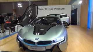 2013大阪モーターショー BMWブース BMW i8 Concept BMW 428i Cabriolet ...