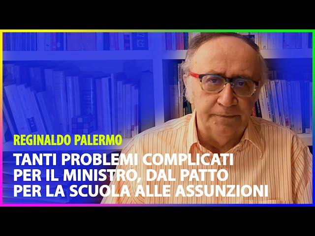 Tanti problemi complicati per il Ministro, dal Patto per la scuola alle assunzioni