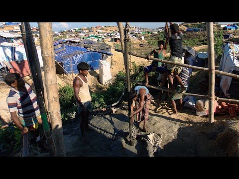Dig deep: Canadians helping Rohingya access clean water