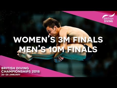 British Diving Championships 2018 - Session Eight