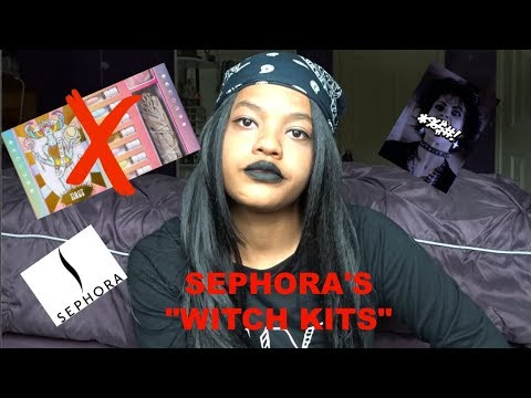WITCH RANT: SEPHORA IS SELLING WITCH KITS??? STOP