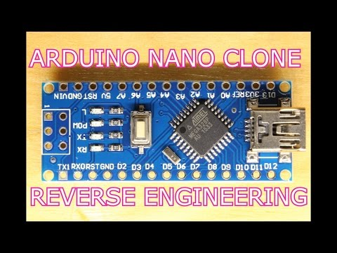 Reverse Engineering an Arduino Nano Clone