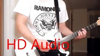 Ramones – Do You Wanna Dance (Guitar Cover), Barre Chords, Downstroking, Johnny Ramone