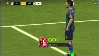 galatasaray vs axaj macı fifa mobile oyunu