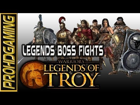 Warriors: Legends of Troy I Legends Boss Fights I Expert Difficulty HD