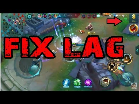 Mobile Legends Fix Lag (Low Ping)