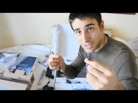 Unboxing PS4 Edición premium/ Killzone + 2 mandos + cámara Playstation Eye - Sephiroth XTR