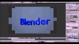 How to Make A Curvy Text Animation in Blender