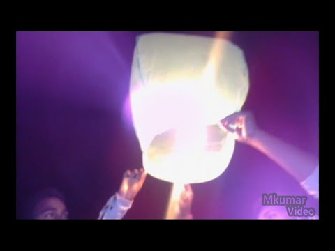 FLYING PAPER sky lantern at home hot air sky lantern launch