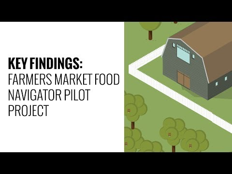 Key Findings from the Farmers Market Food Navigator Pilot Project
