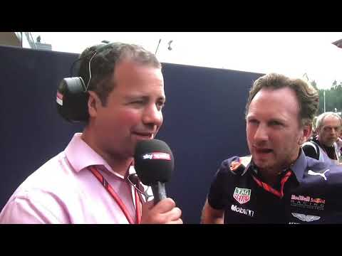 F1 2017 Belgium GP Christian Horner post race reaction