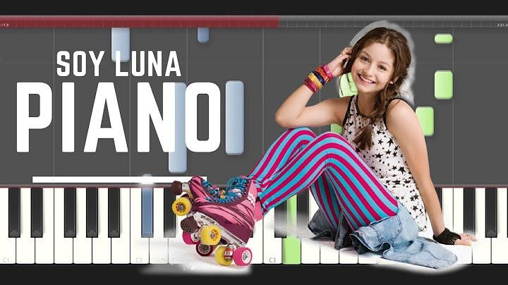 soy luna sobre ruedas piano midi tutorial sheet partitura cover how to play  2