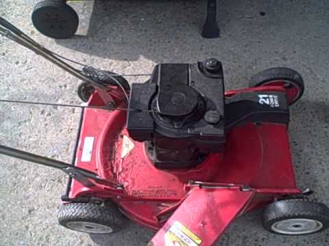 Old 1986 Toro Self Propelled Mower Youtube