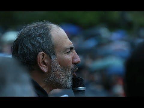 Live. Մի քանի տասնյակ խաղաղապահներ միացան ցույցի