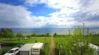 Ostsee Camping Neustadt - Rundflug über den Campingplatz Am Hohen Ufer