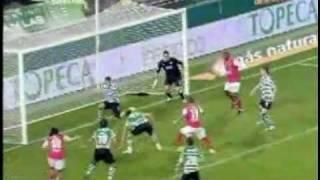 Sporting CP 2-3 Sp Braga (08-02-2009; Época 2008/2009)