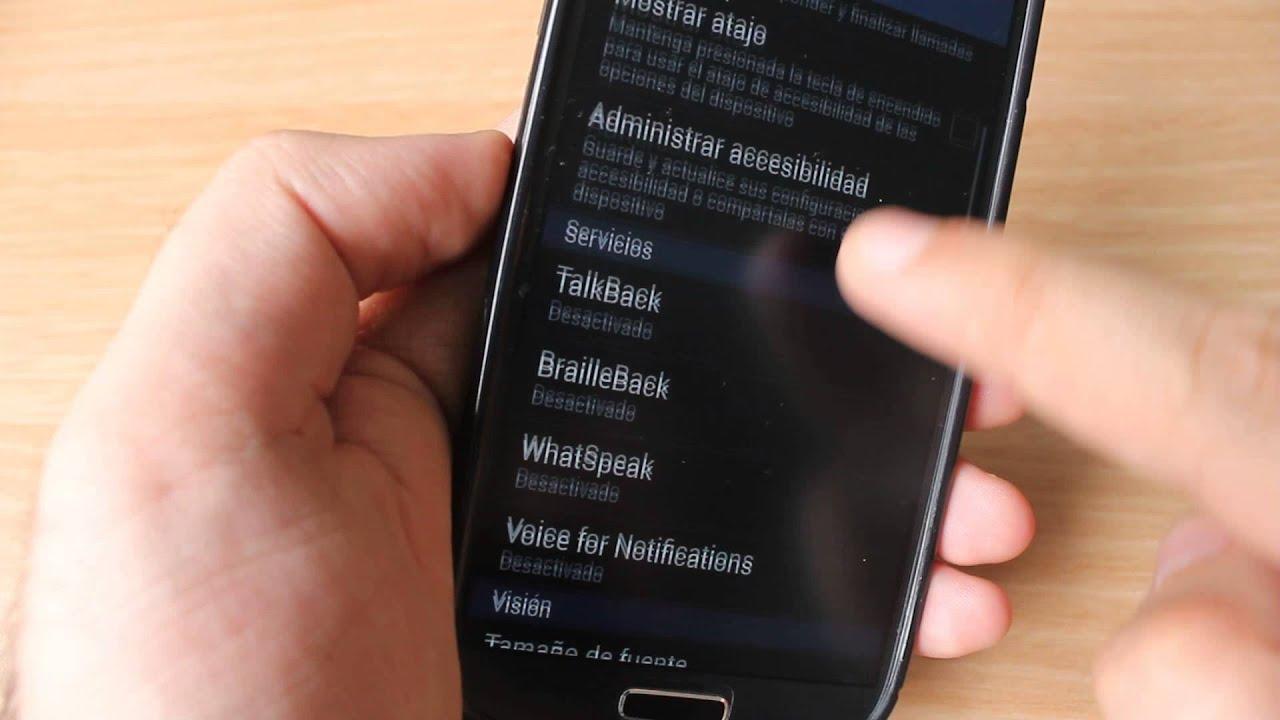 Configurar Android Para Que Lea En Voz Alta Todas Las