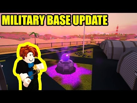 Jailbreak UPDATE is HERE! NEW MILITARY BASE! | Roblox Jailbreak Update Live