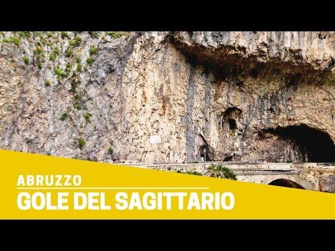 Gole del Sagittario: la strada scavata nella roccia in Abruzzo