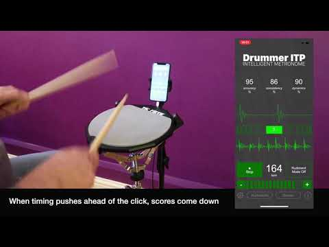 Double Stroke Roll Analyzed with Drummer ITP