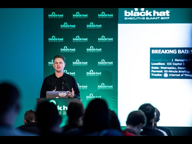 Black Hat Fast Chat: Daniel Cuthbert
