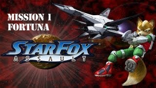 Star Fox: Assault - Mission 1 ~ Fortuna - A New Enemy