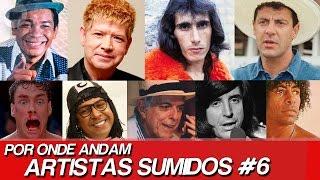 POR ONDE ANDAM ARTISTAS SUMIDOS? | POR ONDE ANDA GERSON BRENNER? | POR ONDE ANDAM FAMOSOS SUMIDOS #6