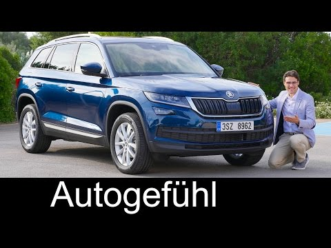 Skoda Kodiaq FULL REVIEW test driven all-new SUV neu Style & Ambition 1.4 TSI - Autogefühl