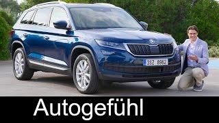 Skoda Kodiaq FULL REVIEW test driven all-new SUV neu Style & Ambition 1.4 TSI - Autogefühl