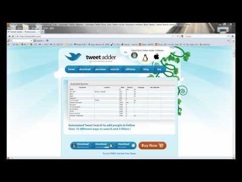 TweetAdder 3 Review | Scam | Twitter Marketing Tools | 2011 Online Marketing