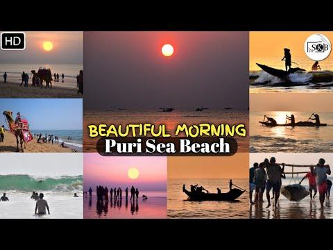 Beautiful Morning | Puri Beach | Odisha, India