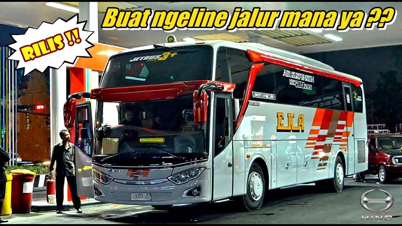 Rilis Cak Padi Manohara Bawa Bis Baru Eka Jetbus 3 Hdd Hino Rn 285 Saat Rilis Dari Adi Putro