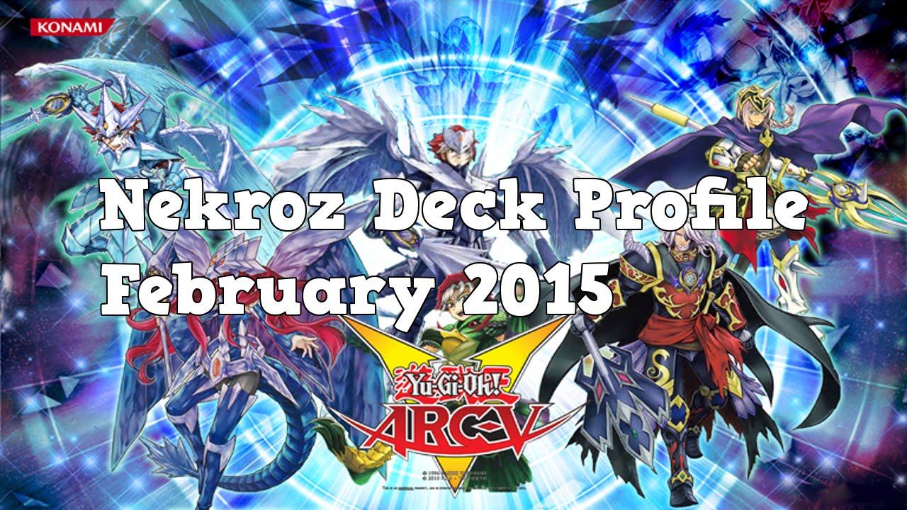 Yugioh Nekroz Deck Profile February 2015