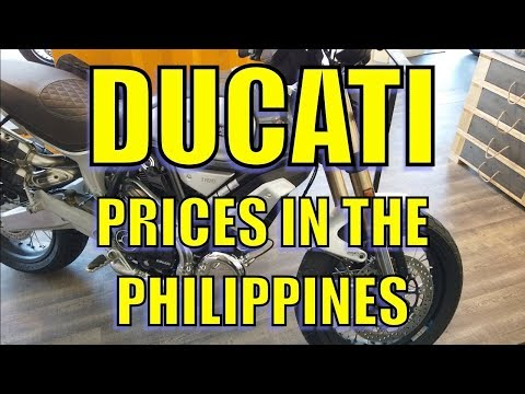 Ducati. Prices In The Philippines.