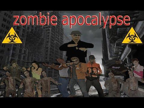 GTA San Andreas - Apocalipsis Zombie Remake - Temporada 1 Capitulo 5